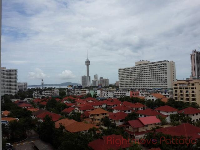 1 Bed Condo For Rent In Jomtien-view Talay 2 B
